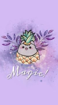 Pusheen Magic Wallpaper