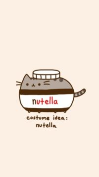 Pusheen Nutella Wallpaper