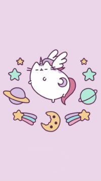 Pusheen Unicorn Wallpaper 2