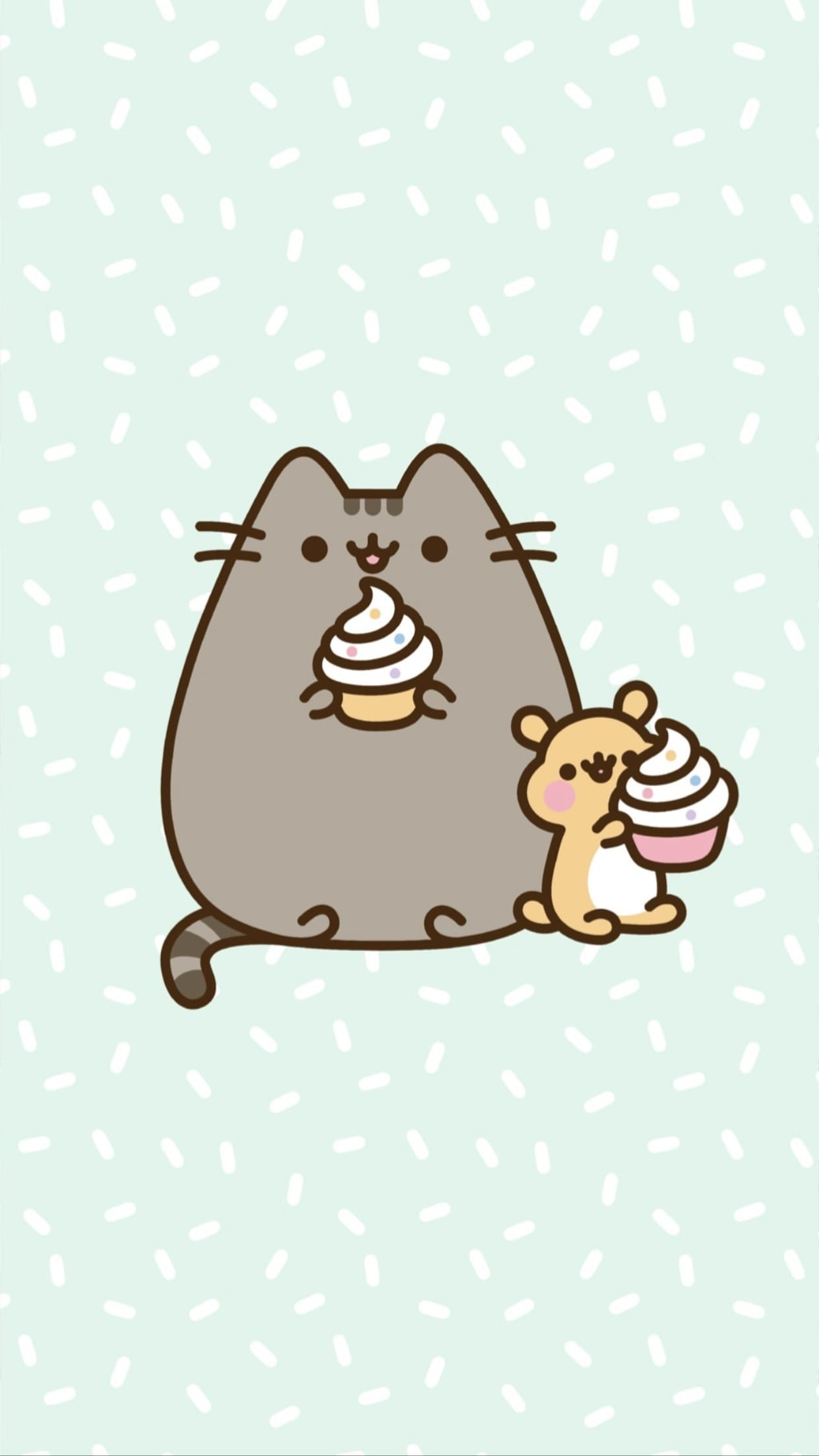 Pusheen and Cat Wallpaper