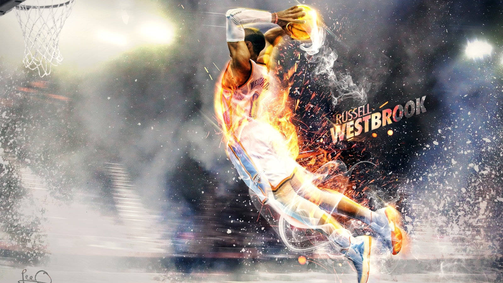 Russell Westbrook Backgrounds