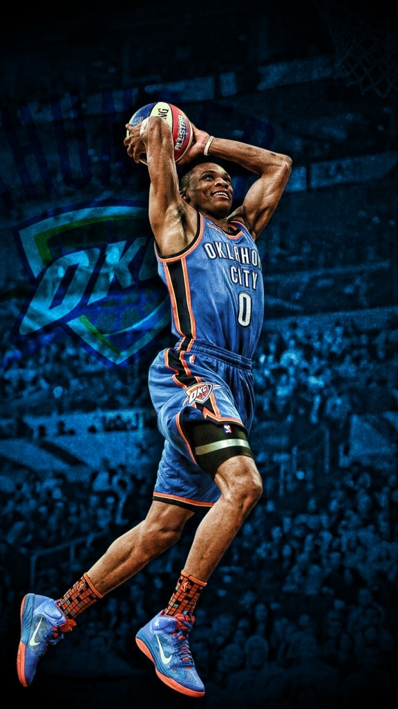 Russell Westbrook Iphone Wallpaper