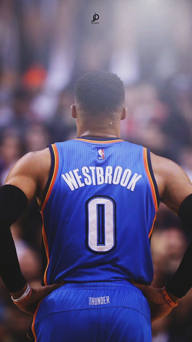 Russell Westbrook Thunder Wallpaper