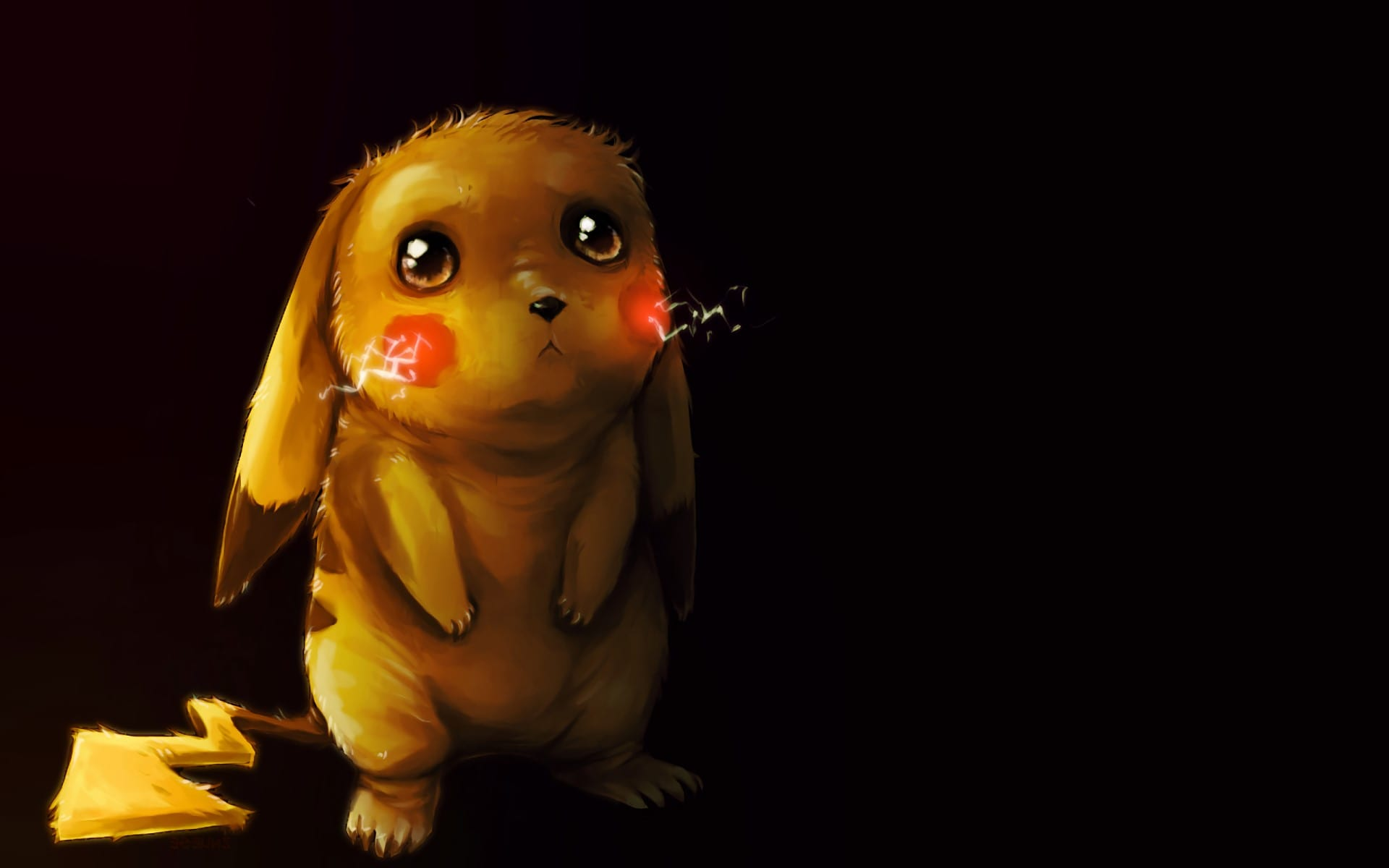Sad Pikachu HD Wallpaper