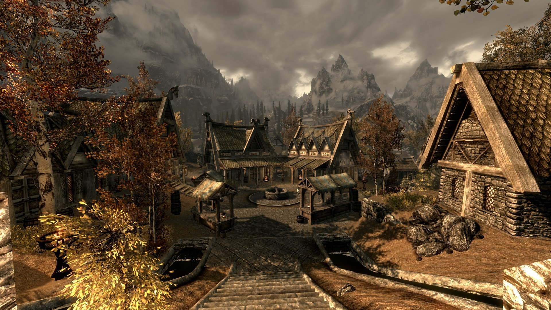 Skyrim Full Hd Wallpaper