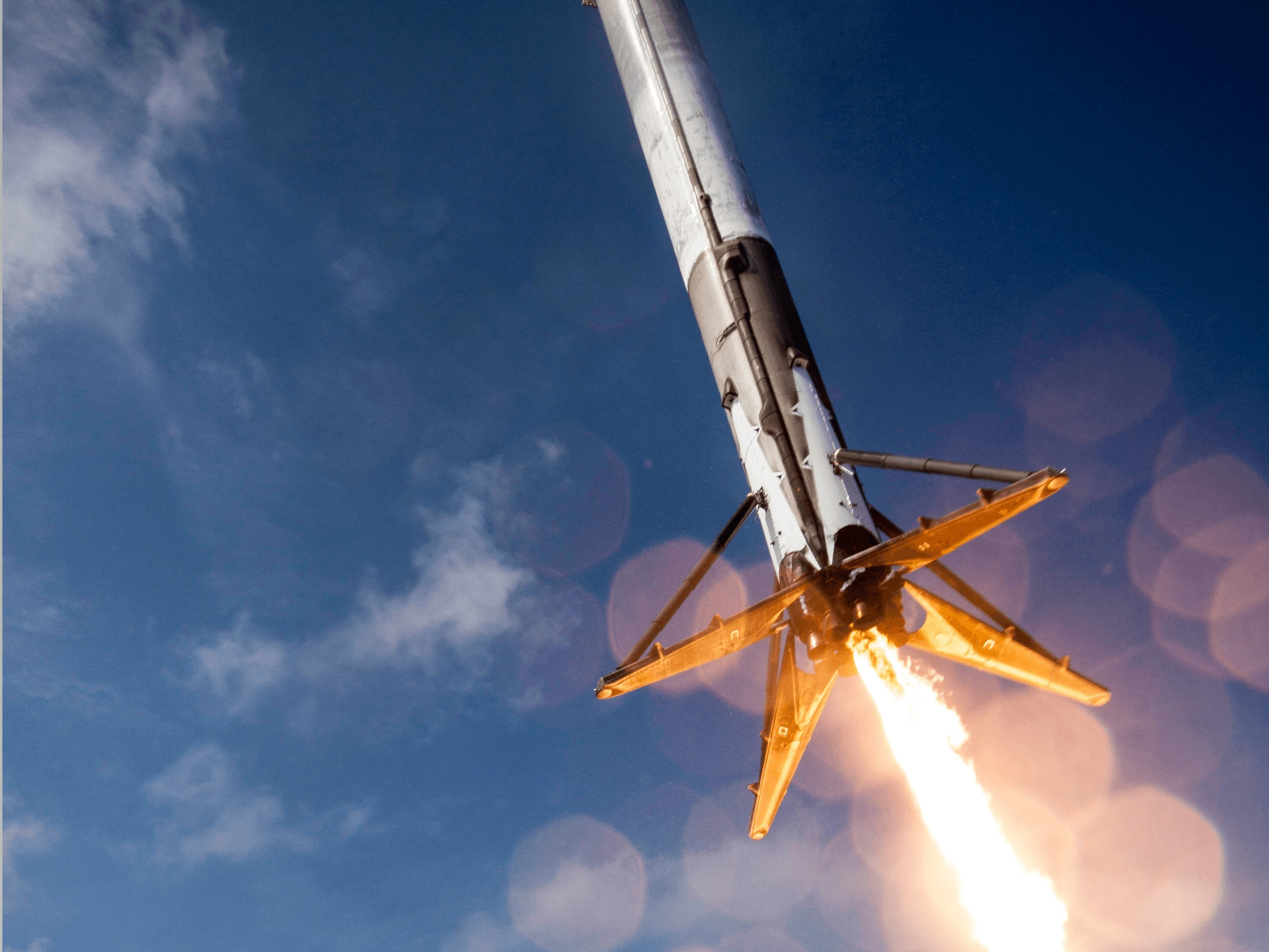 Space X Rocket Wallpaper 2