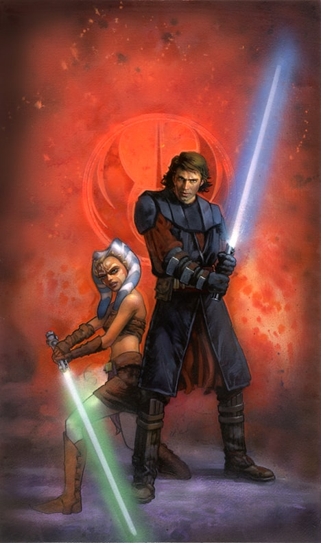 Star Wars Ahsoka And Anakin Wallpaper Kolpaper Awesome Free Hd Wallpapers