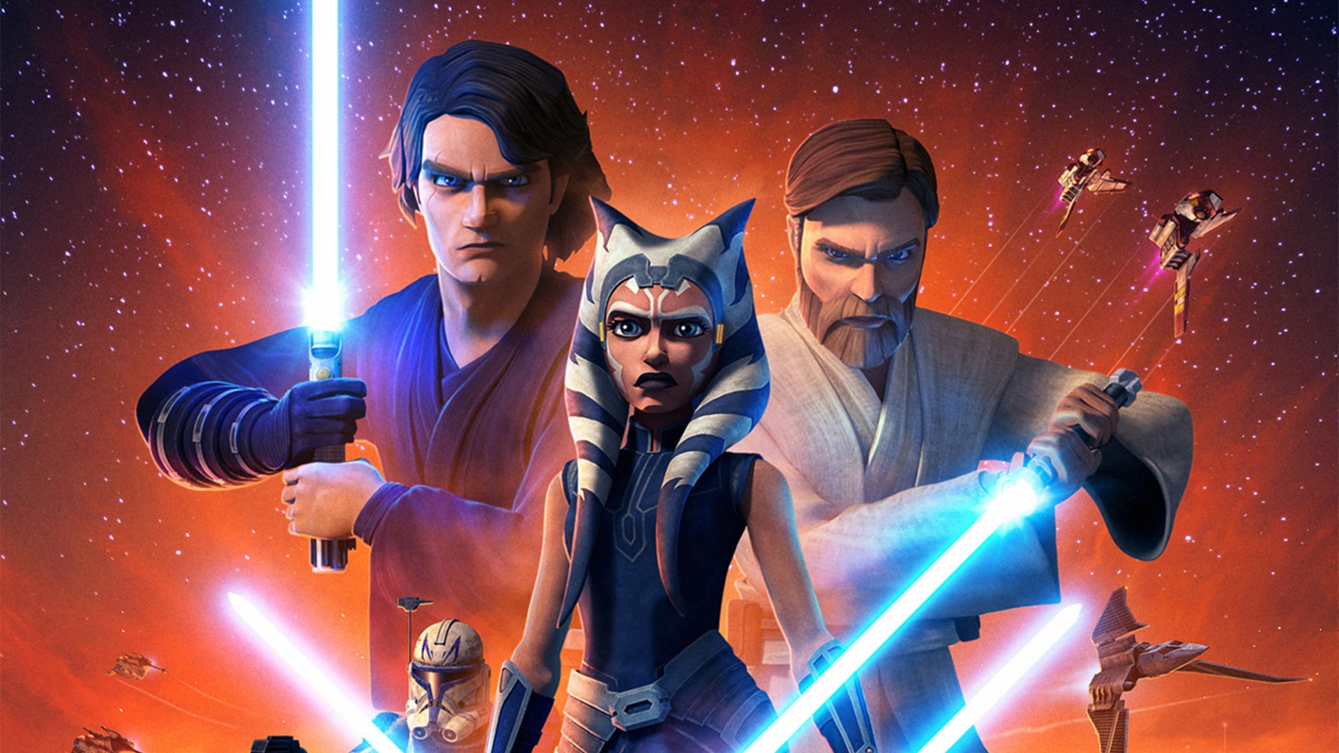 Star Wars Clone Wars PC Wallpaper