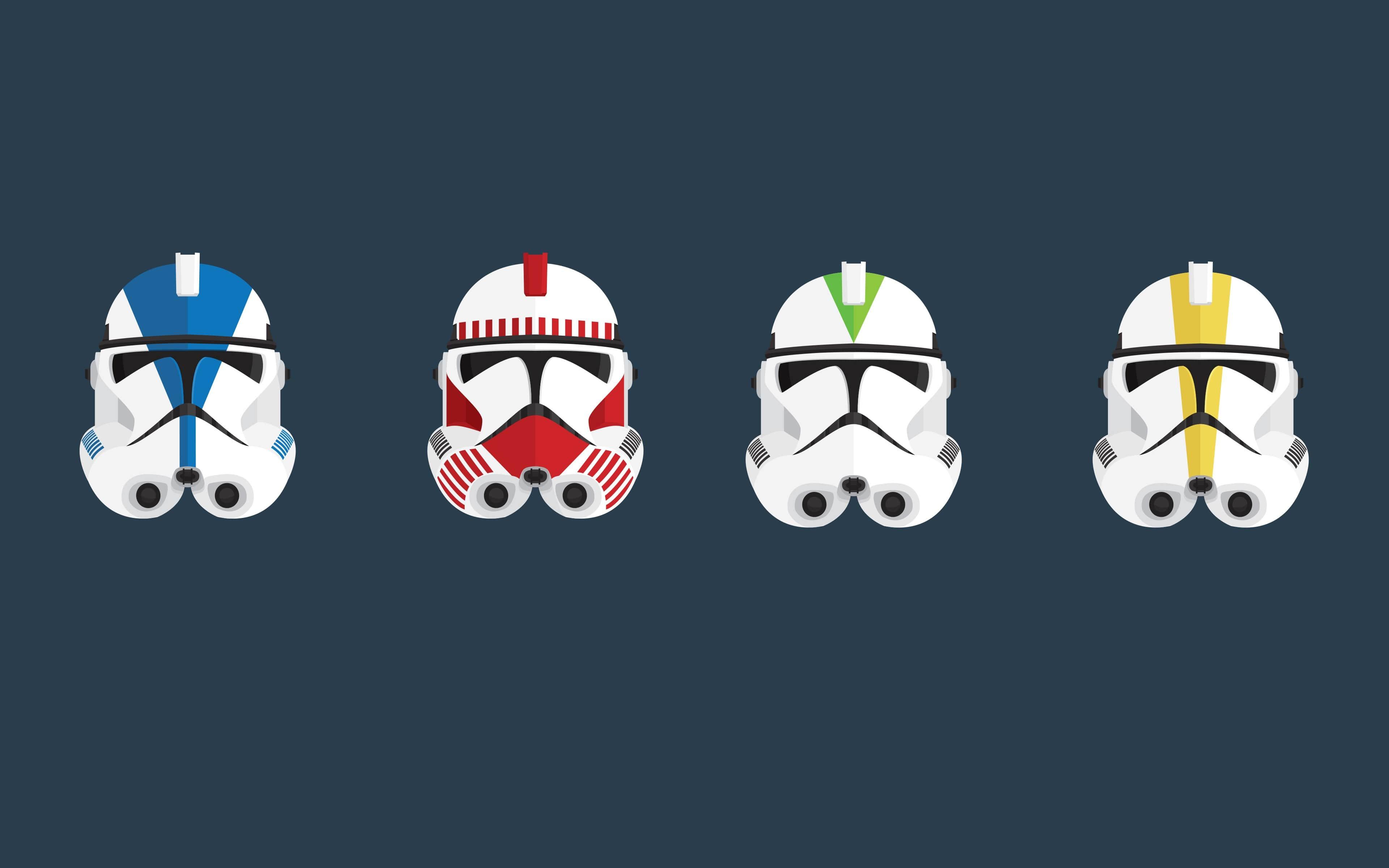 Star Wars Helmets Wallpaper Kolpaper Awesome Free Hd Wallpapers
