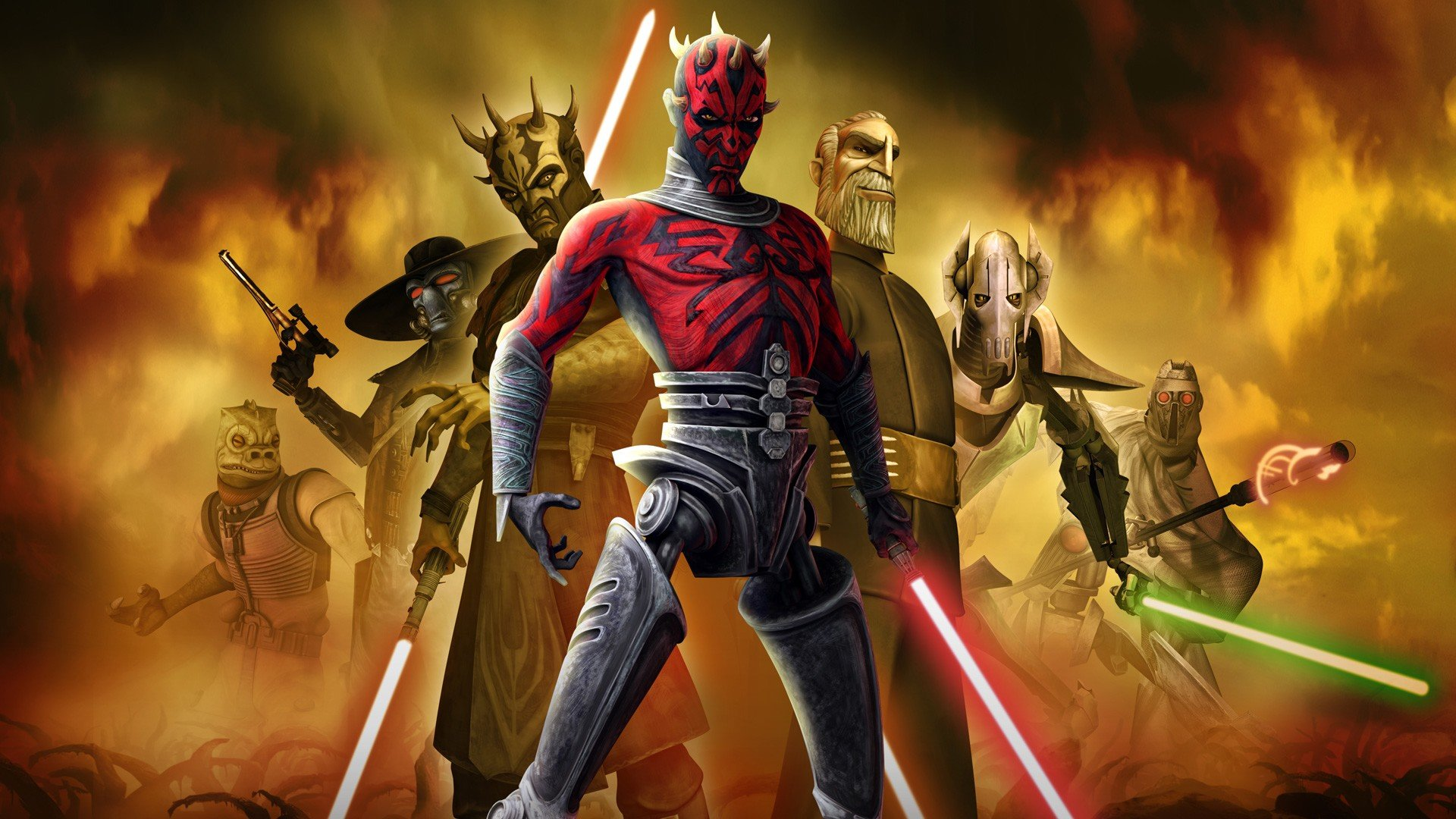 Star Wars The Clone Wars Hd Wallpaper