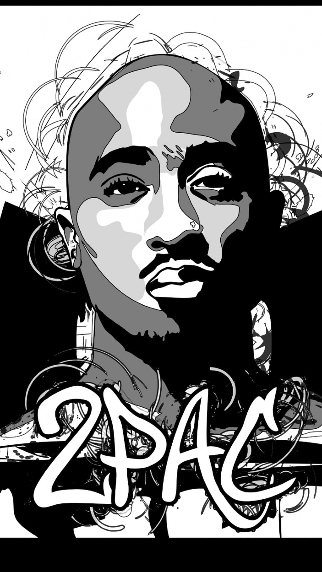 Tupac Iphone Wallpaper 2