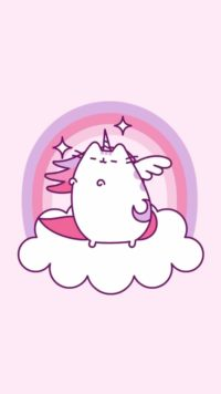 Unicorn Pusheen Wallpaper 2