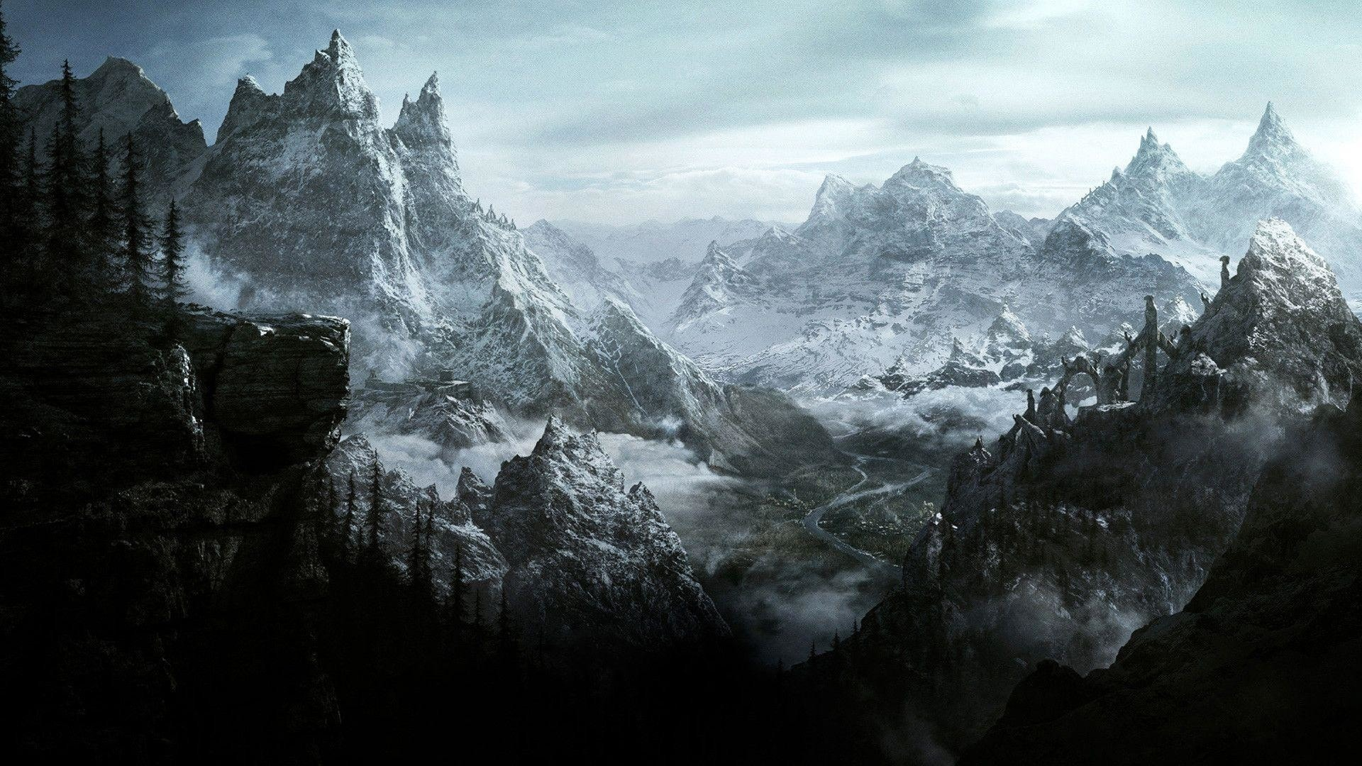 Wallpaper Skyrim 2