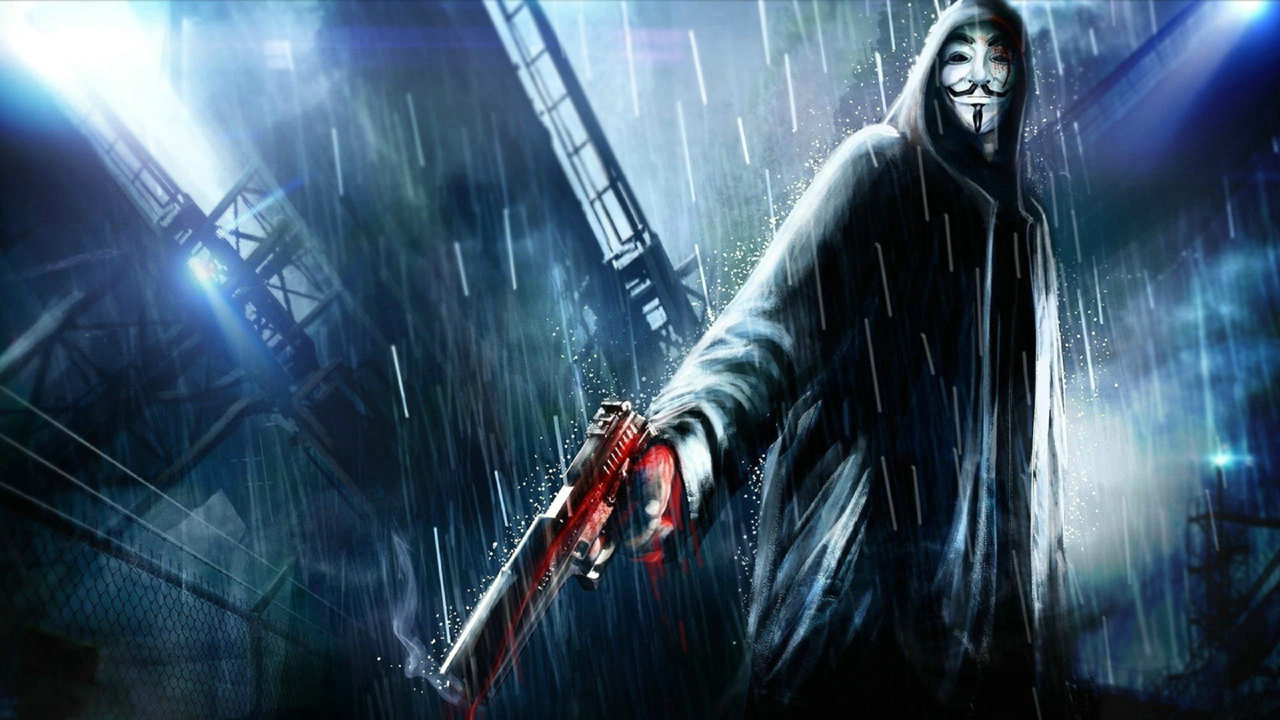Anonymous Hacker Background Kolpaper Awesome Free Hd Wallpapers