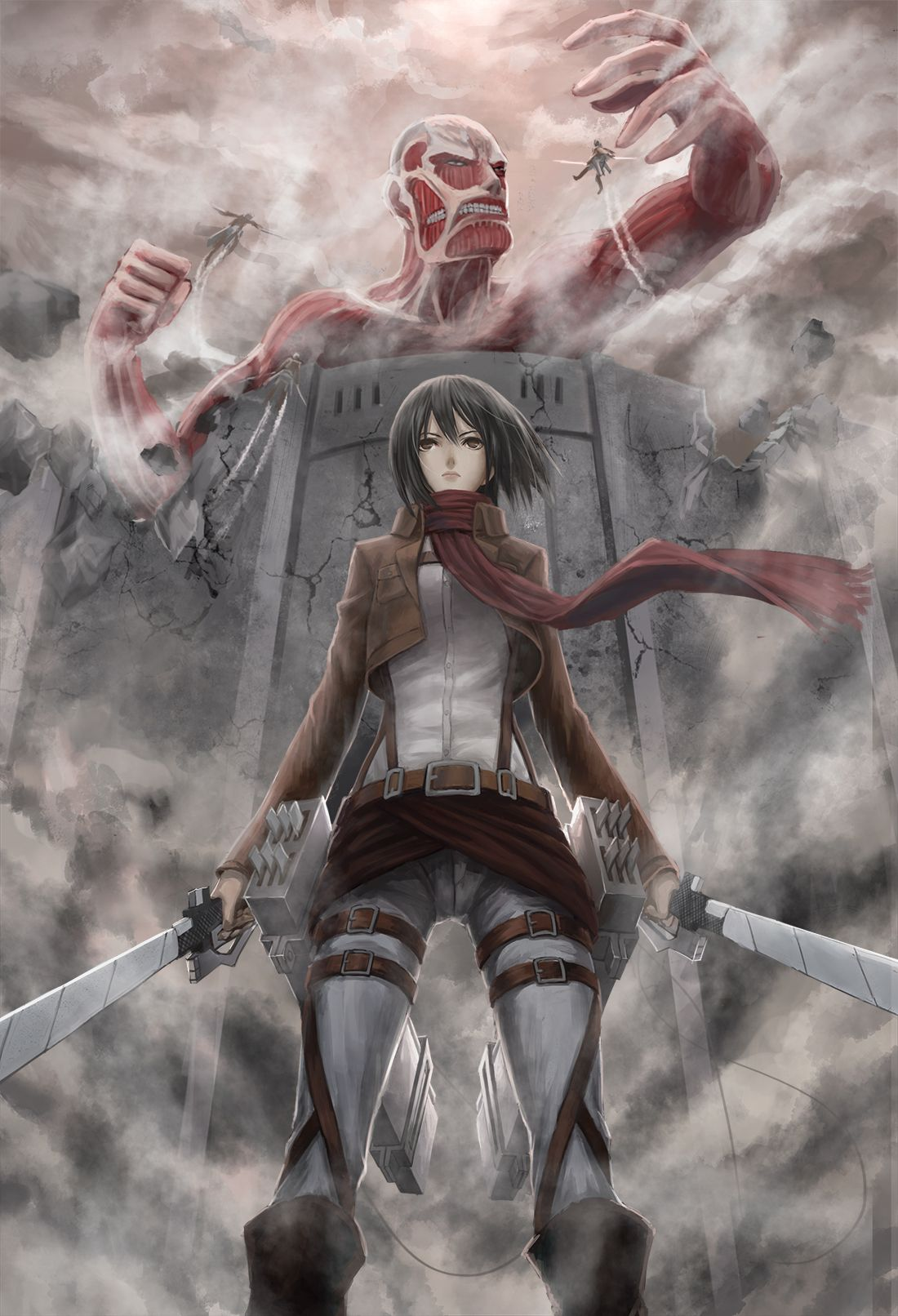 Attack On Titan Background Images Kolpaper Awesome Free Hd Wallpapers