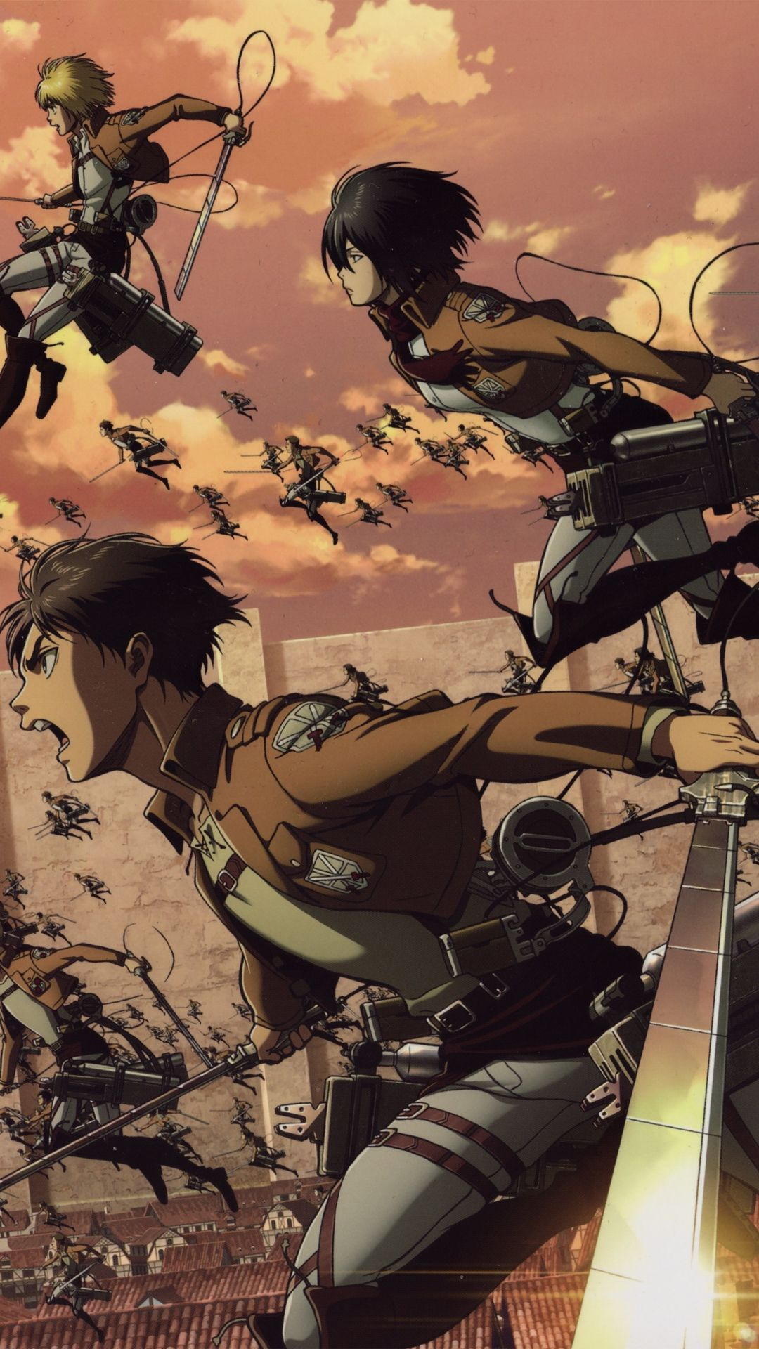 Attack On Titan Background Kolpaper Awesome Free Hd Wallpapers