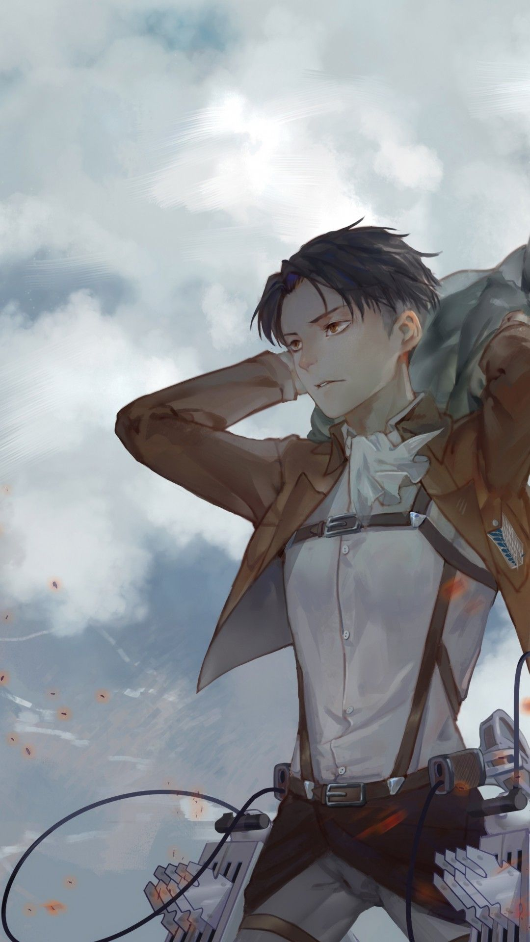 Attack On Titan Levi Wallpaper Kolpaper Awesome Free Hd Wallpapers