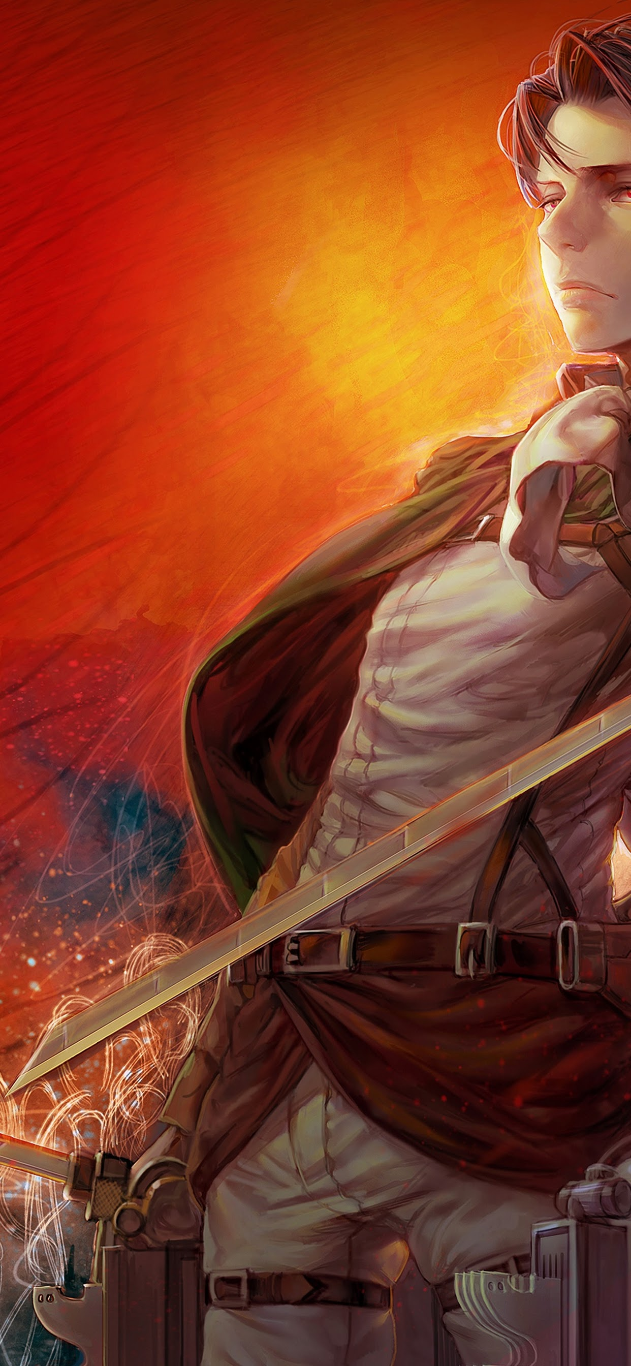 Attack On Titan Levi Wallpapers Kolpaper Awesome Free Hd Wallpapers