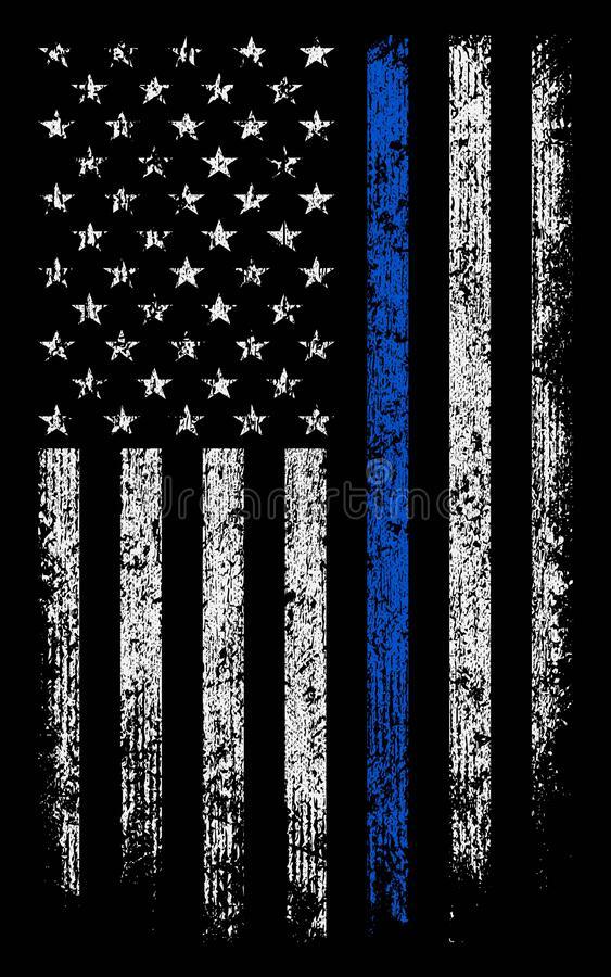 Blue Line Flag Wallpaper Kolpaper Awesome Free Hd Wallpapers
