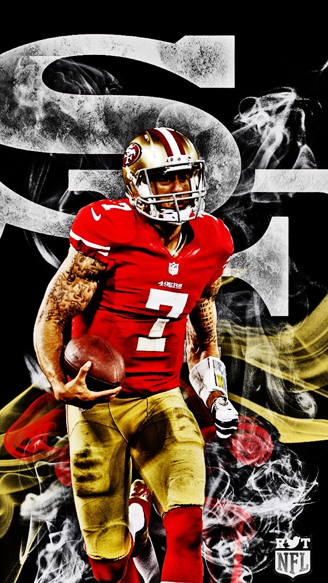Colin Kaepernick Iphone Wallpaper