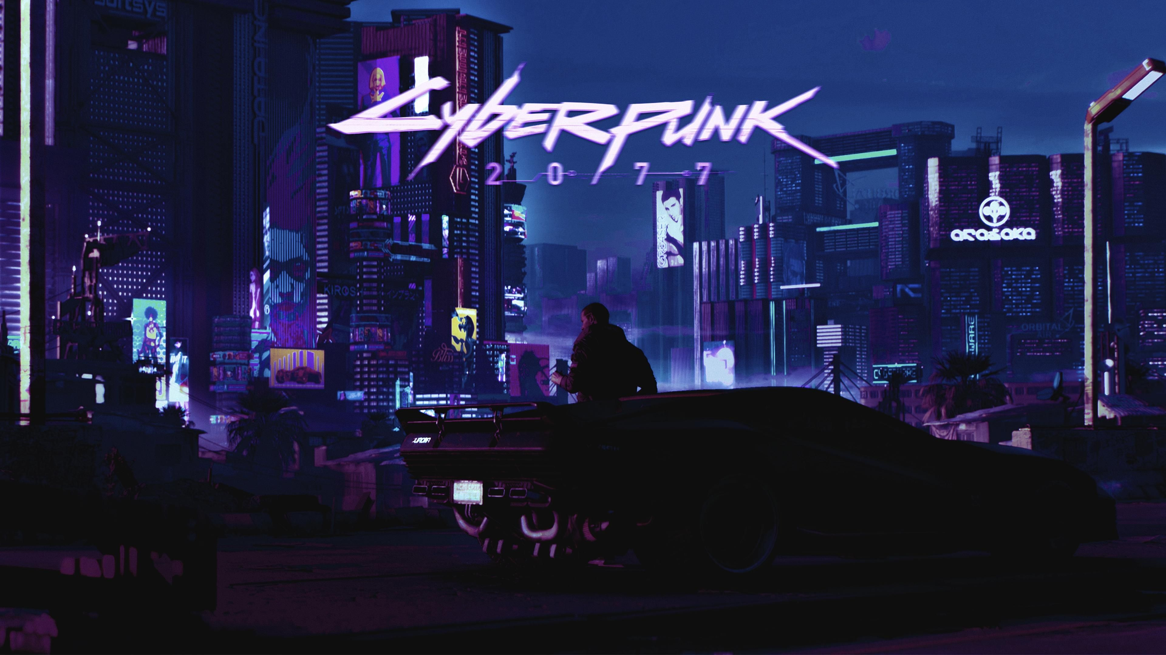 Cyberpunk 2077 4K Wallpaper - KoLPaPer - Awesome Free HD ...