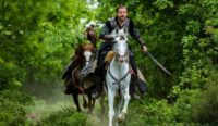 Dirilis Ertugrul on Horse Wallpaper