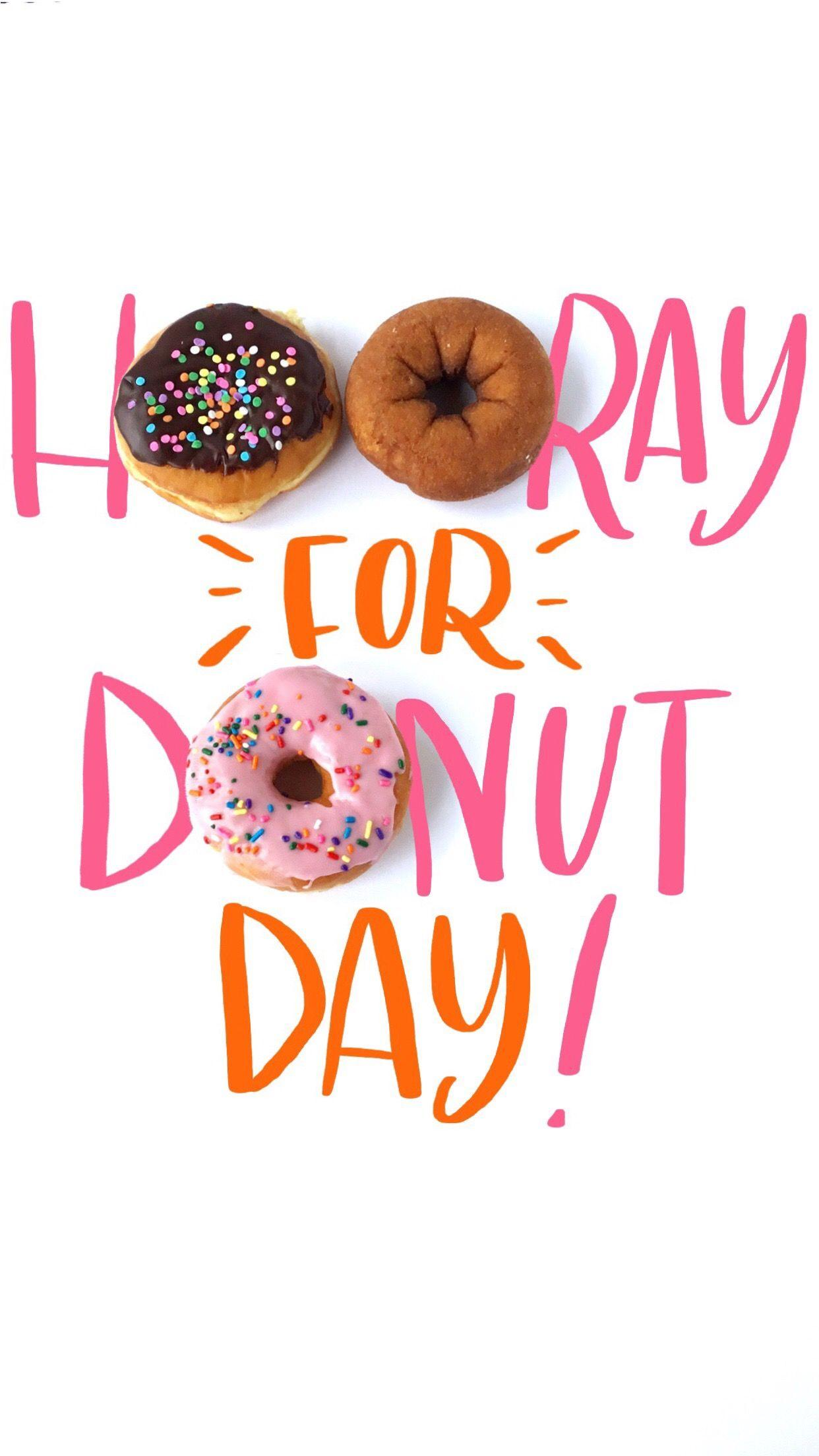 Donut Day Iphone Wallpaper