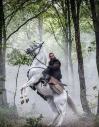 Ertugrul on Horse Photo