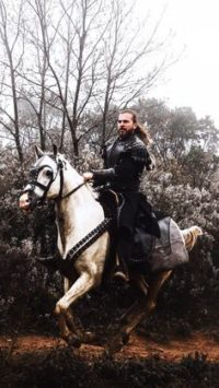 Ertugrul on Horse Photos