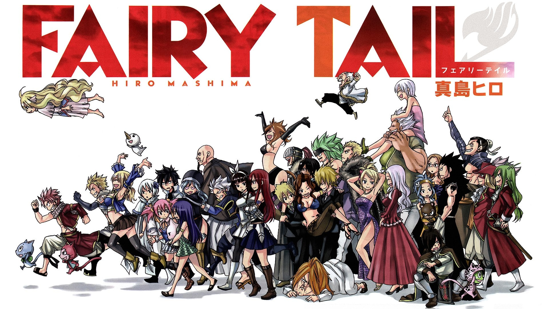 Fairy Tail Hiro Mashima Wallpaper