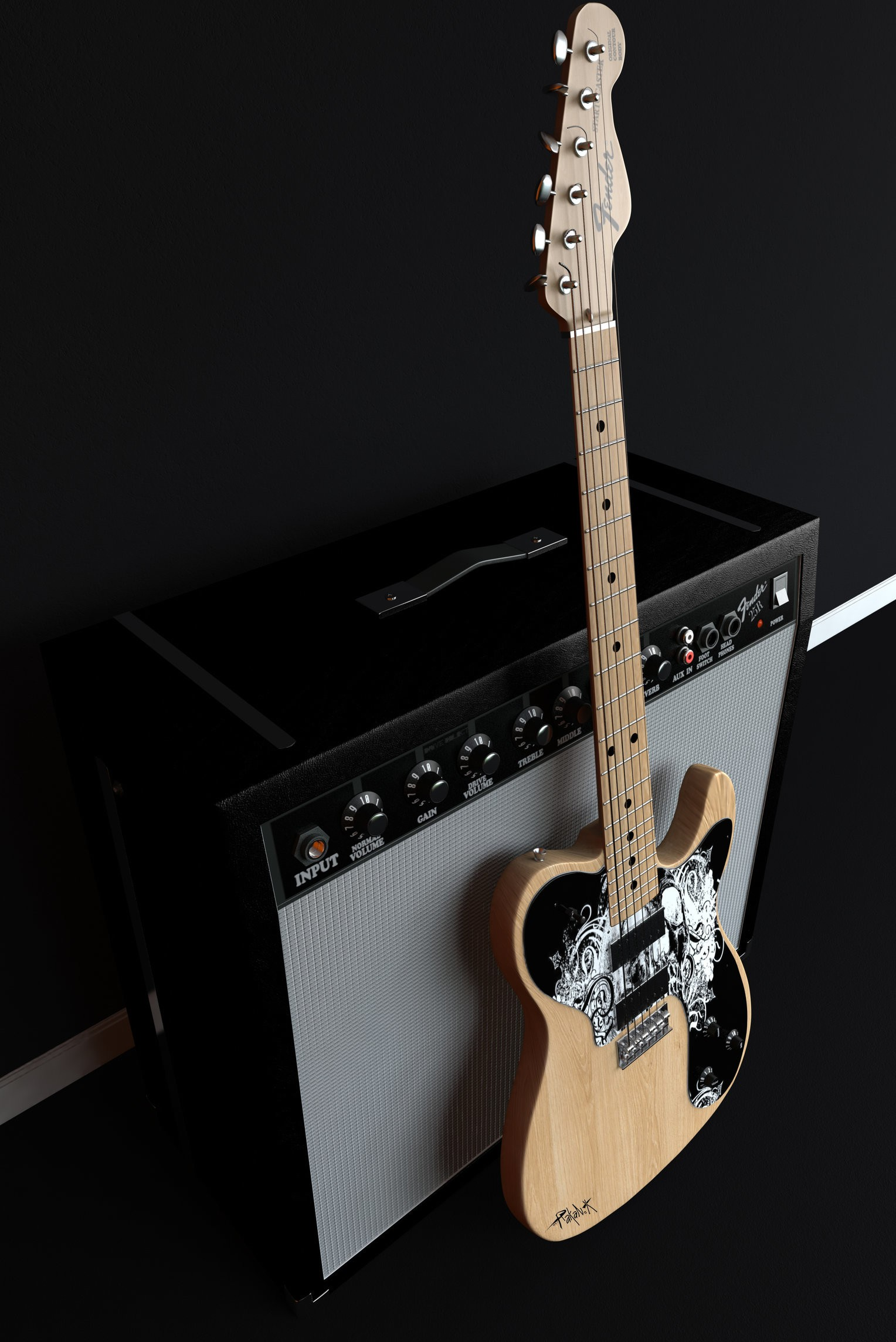 Guitar Amp Iphone Wallpaper Kolpaper Awesome Free Hd Wallpapers
