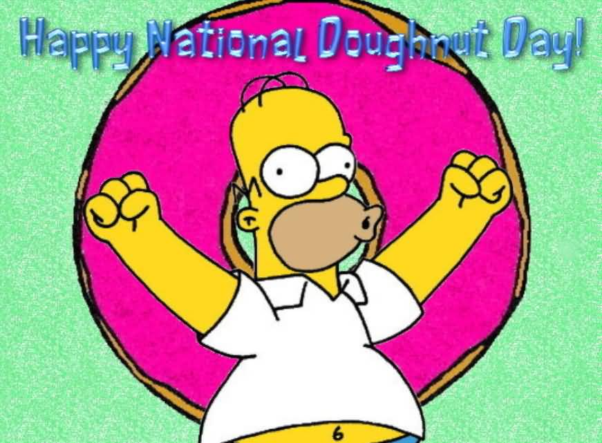 Happy National Donut Day Wallpaper 2
