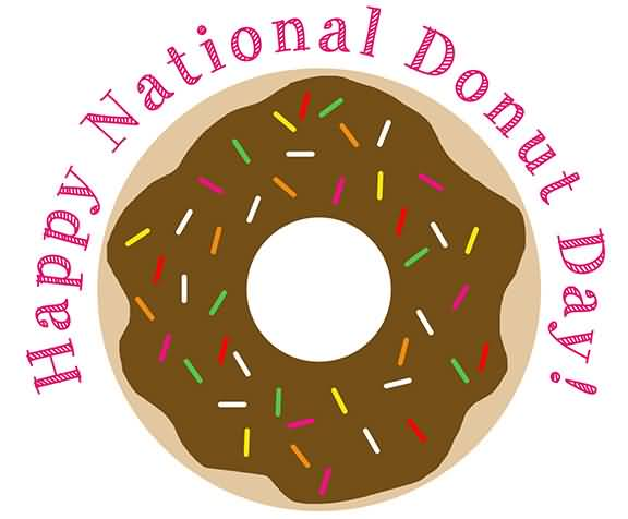 Happy National Doughnut Day Wallpaper