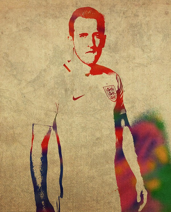 Harry Kane Portrait Wallpaper
