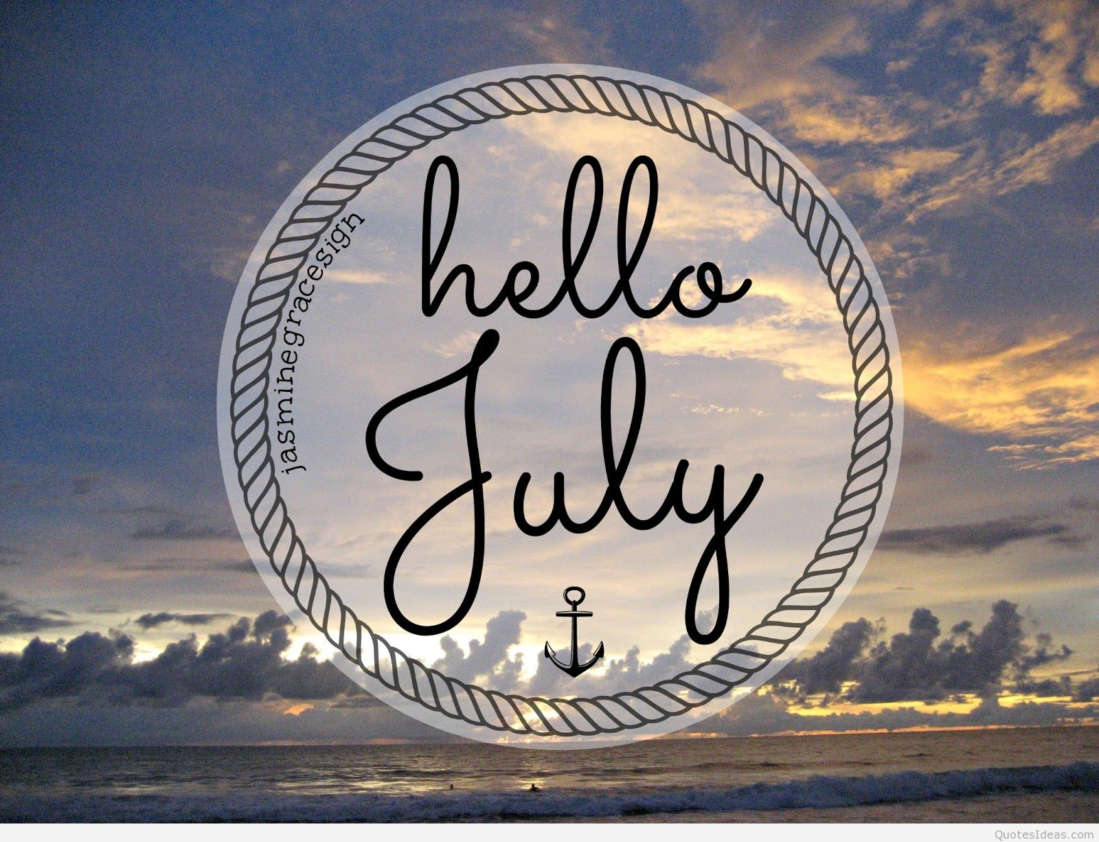 Hello July Wallpaper 4