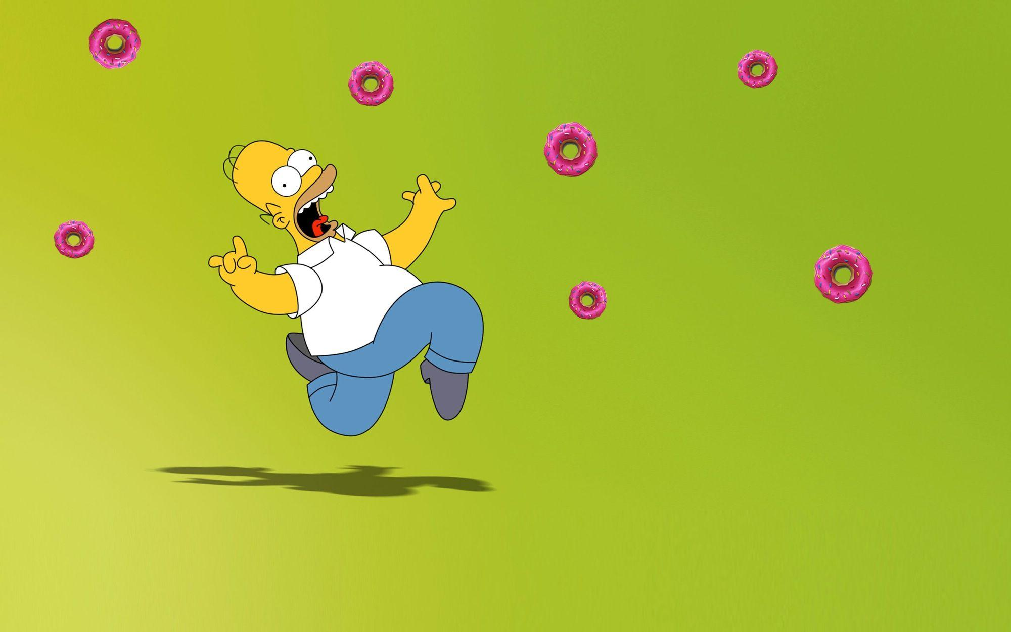Homer Simpson Donut Wallpapers