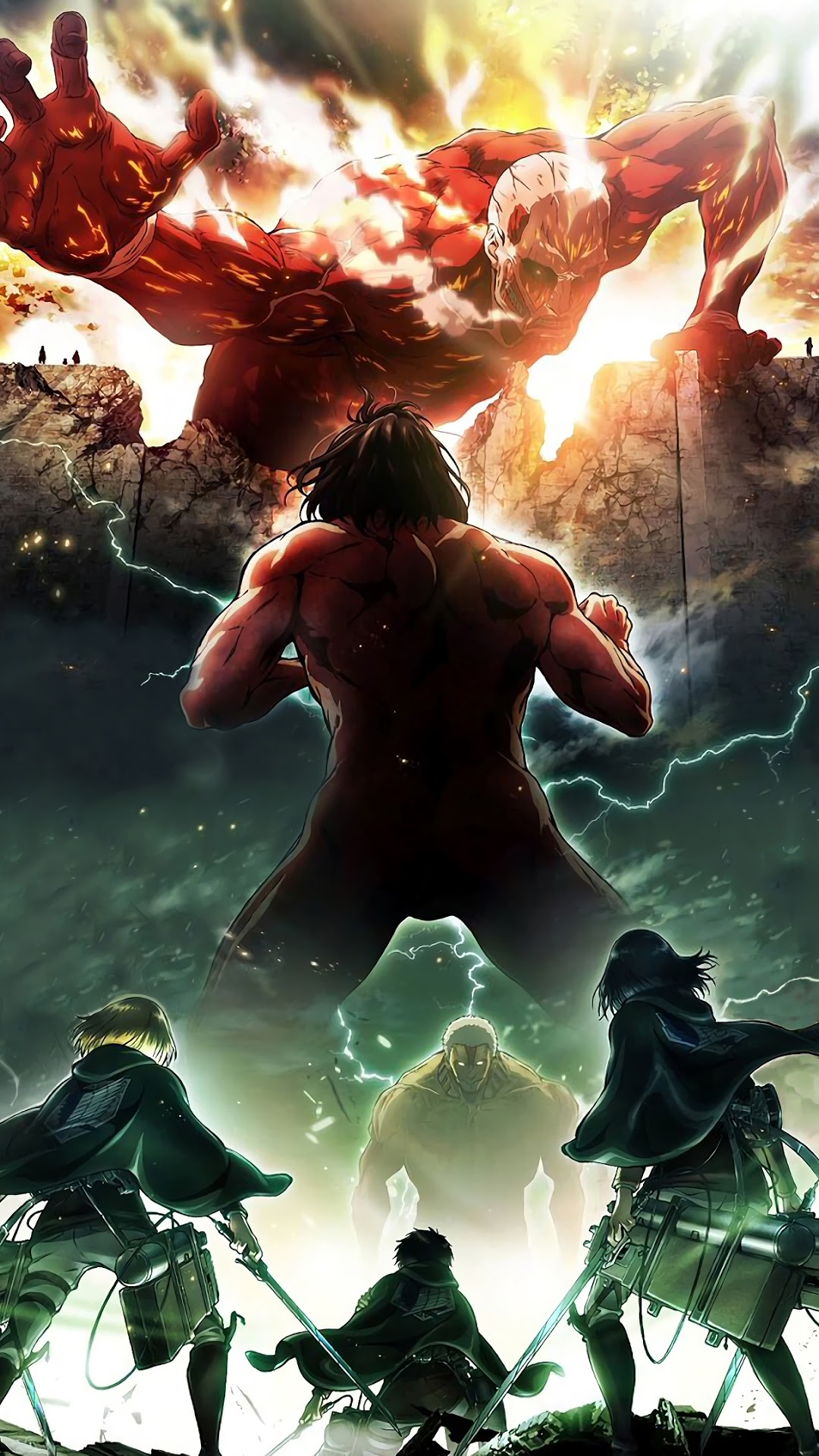 Iphone Attack On Titan Wallpaper - KoLPaPer - Awesome Free ...
