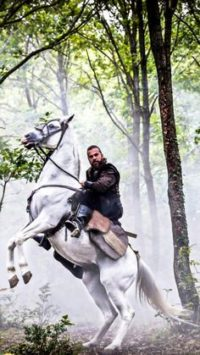 Iphone Ertugrul on Horse