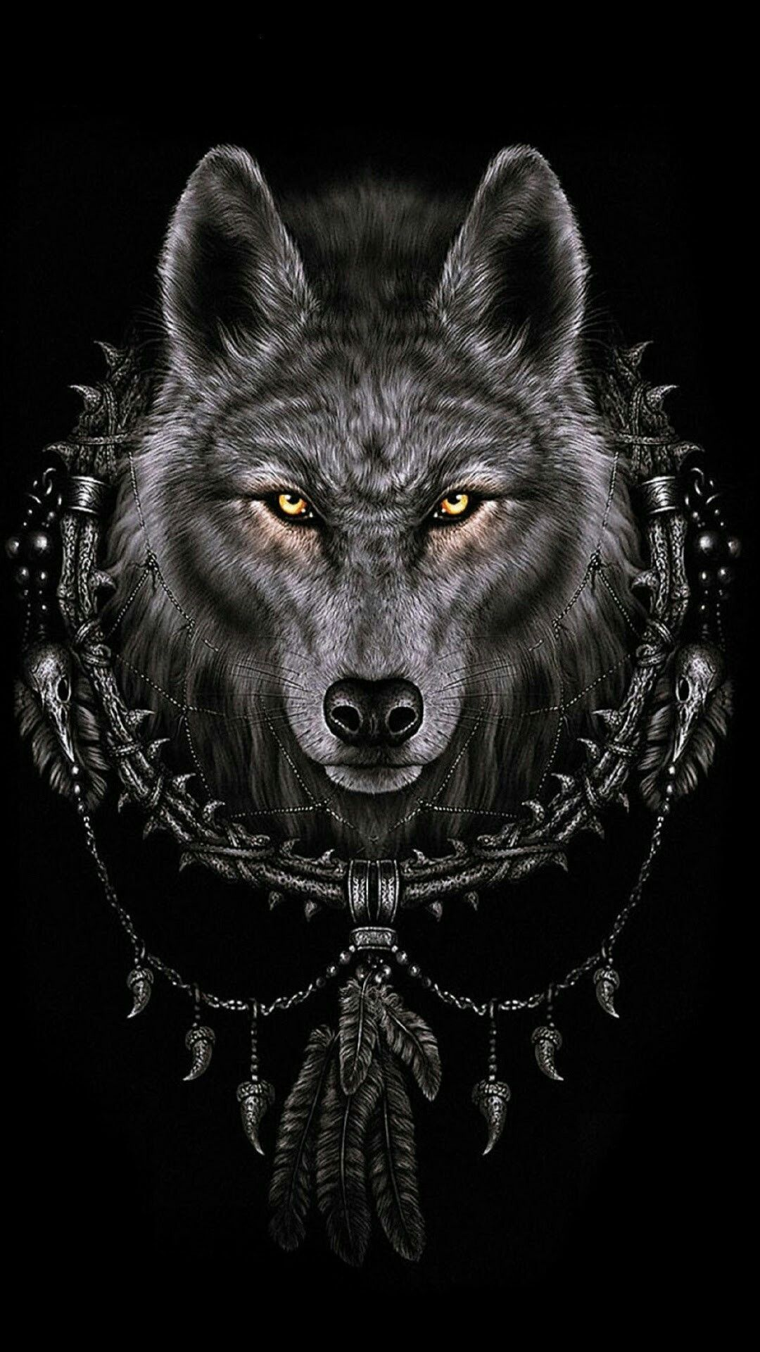 Iphone Wolf Wallpapers 2