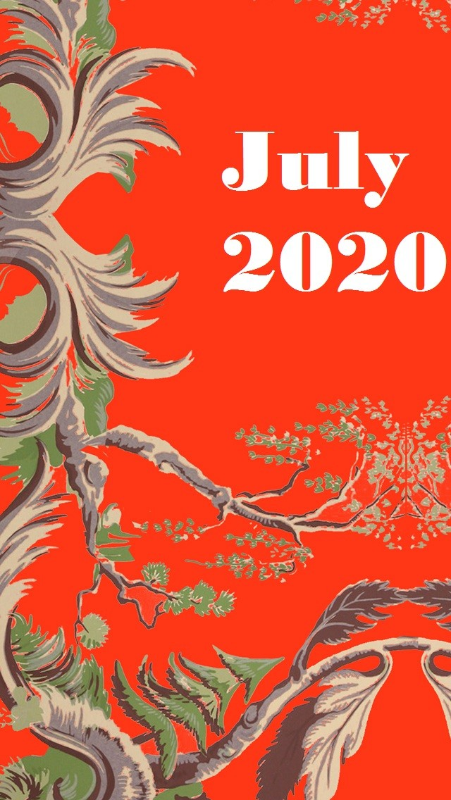 July 2020 Iphone Wallpaper