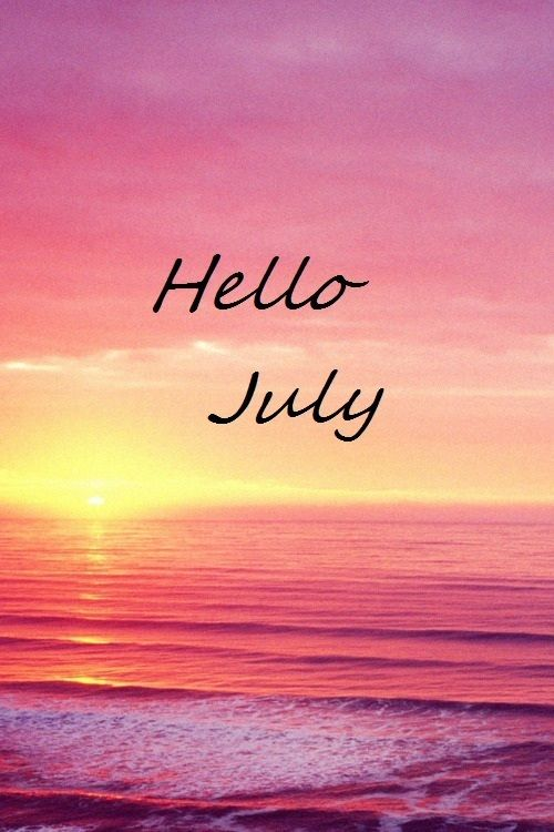 July Background