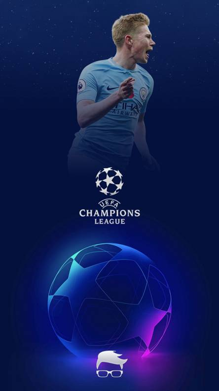 Kevin De Bruyne Champions League Wallpaper