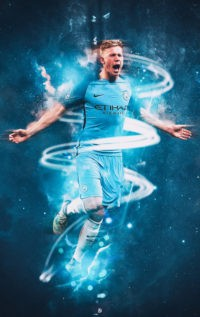 Kevin De Bruyne Phone Wallpaper 3