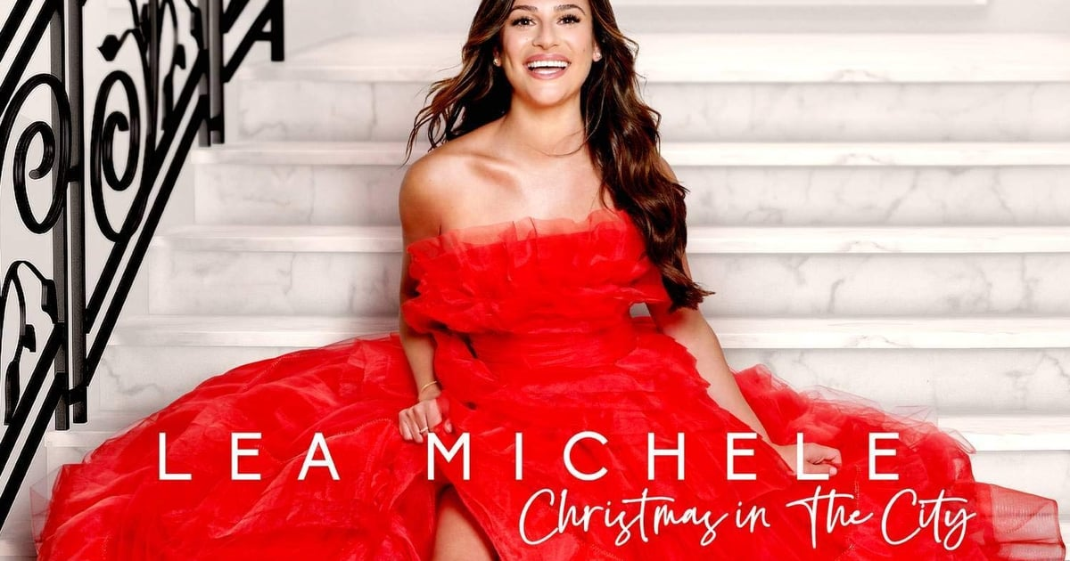 Lea Michele Christmas Background