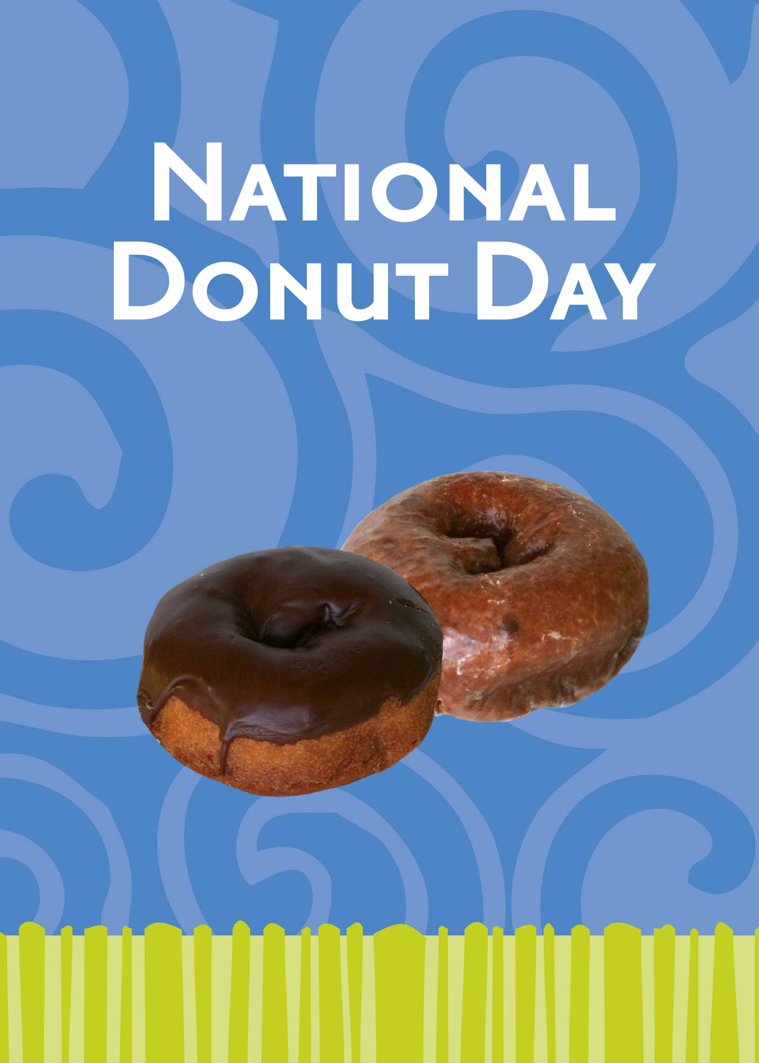 National Donut Day Background