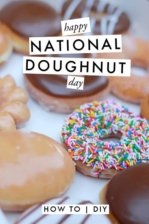 National Donut Day Iphone Wallpaper