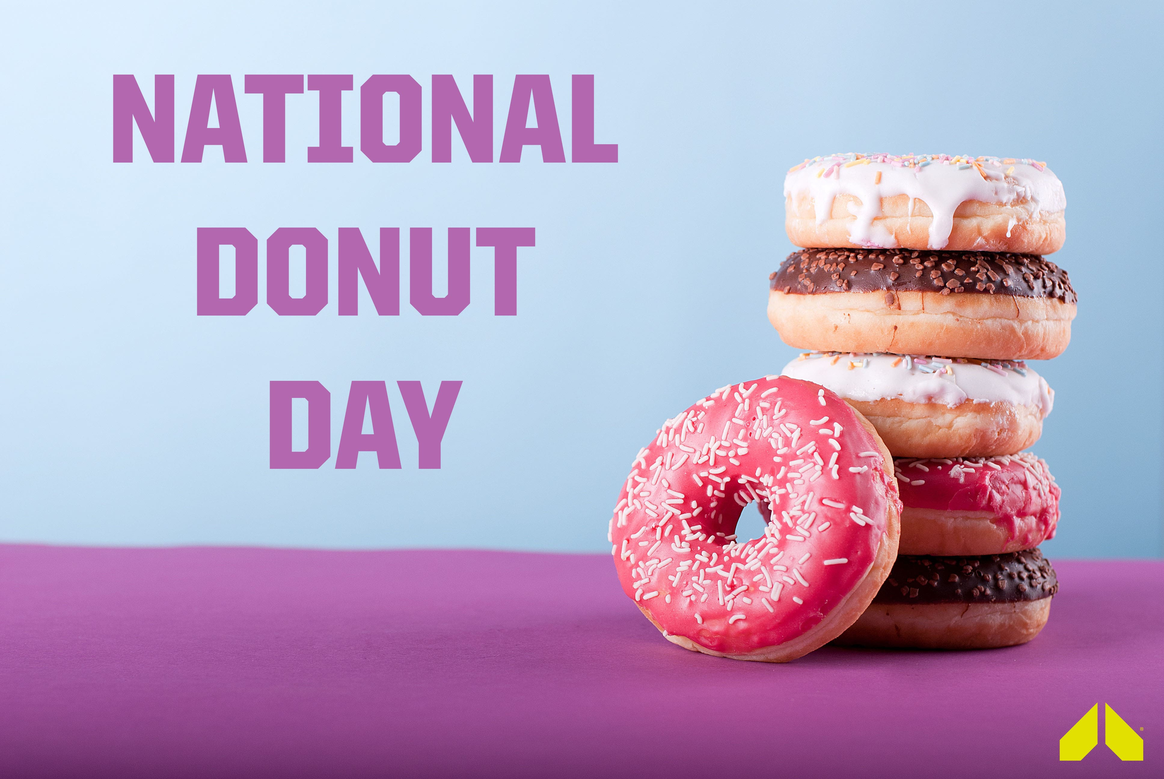 National Donut Day Wallpaper 2