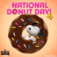 National Donut Day Wallpaper 3