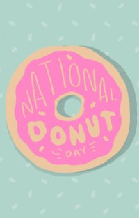 National Donut Day Wallpaper Iphone