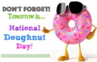 National Doughnut Day Wallpaper 2